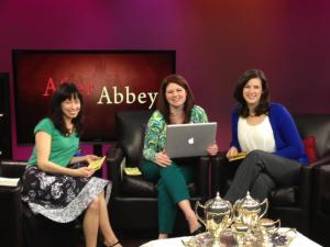 With my co-hosts Lindsey Whissell & Jessica Peters